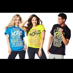 NWT Zumba T Shirt $10 Each